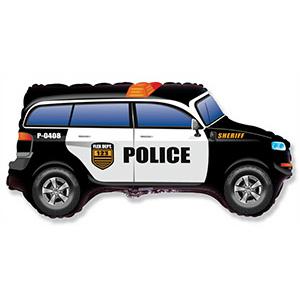 Шар 85 см Фигура Машина Полиция