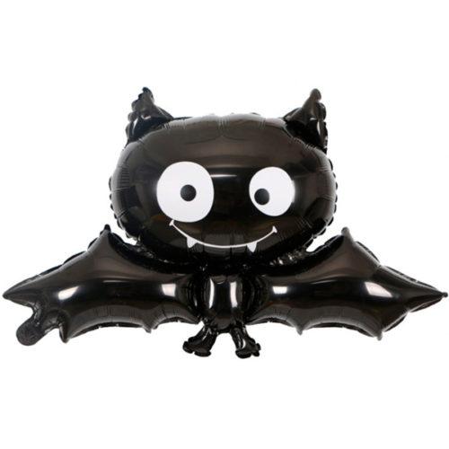 Шар 86 см Фигура Летучая мышь Черный