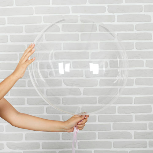 Шар 90 см Сфера 3D Deco Bubble с 1 штука