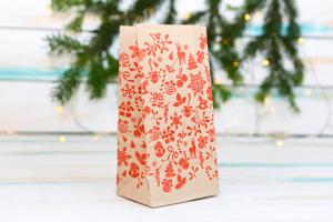 Бумажные пакеты Новый год