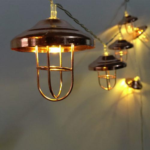 Гирлянда Колокольчик Ретро 3 м х 5 см х 20 ламп от сети