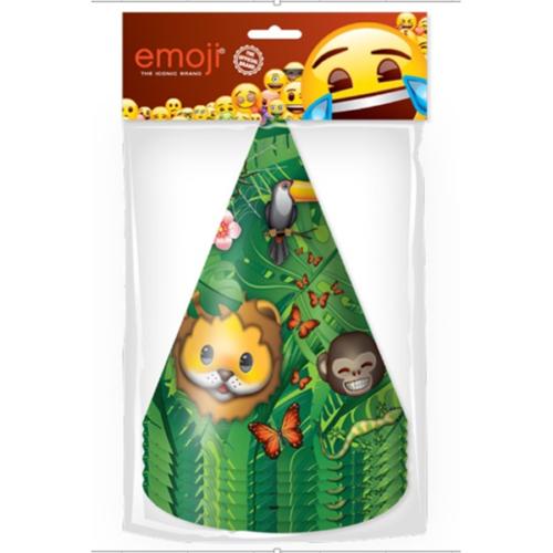 Колпаки Смайл Emoji Джунгли 6 штук-1
