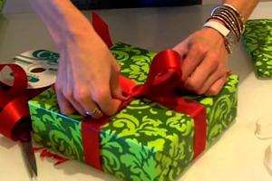 Лента для Упаковки Подарков Новый Год