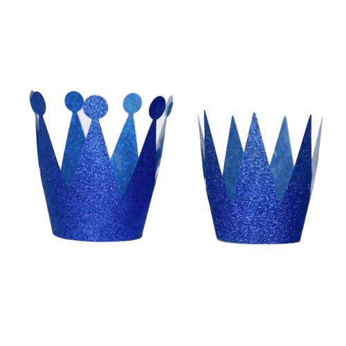 Набор Корона 6 шт темно-синяя