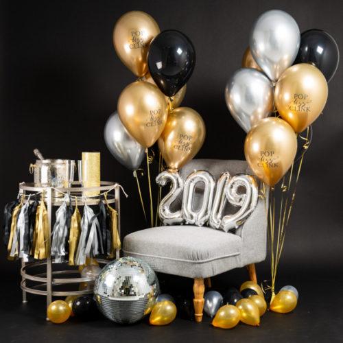 Фотозона Новый год Гирлянда Цифры и Связки