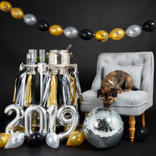 Фотозона Новый год Гирлянда и Цифры