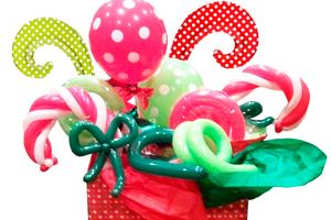 Шары для декорирования подарков НГ