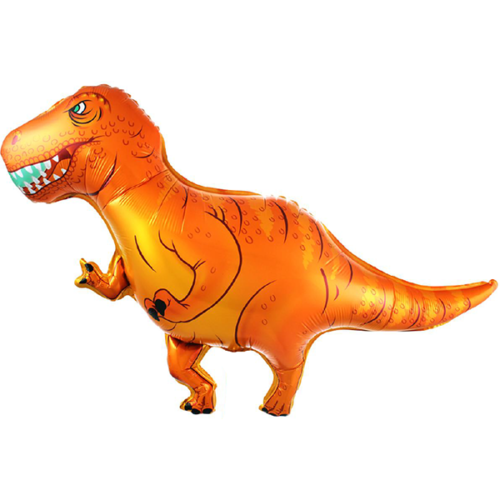 Шар 104 см Фигура Динозавр Ти-Рекс