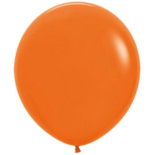 Шар 46 см Оранжевый Пастель