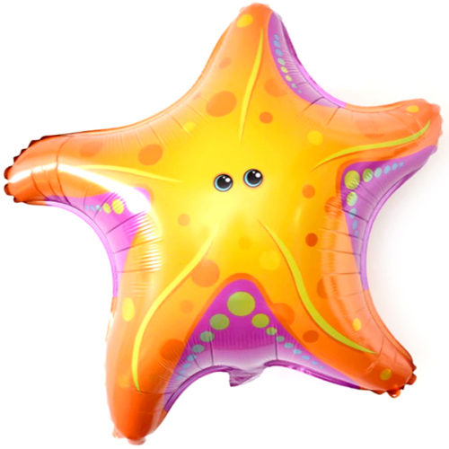 Шар 66 см Фигура Морская звезда