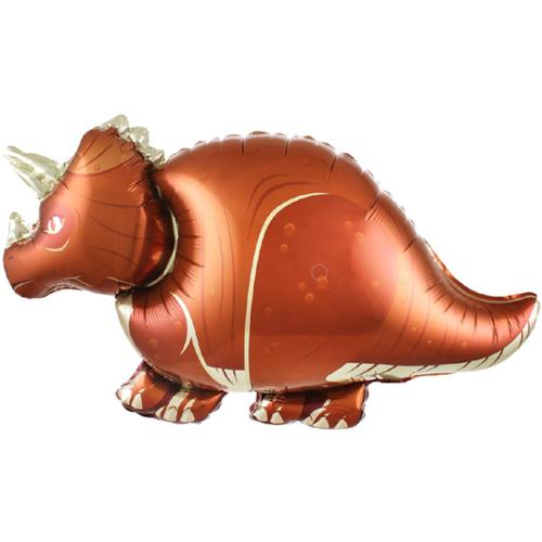 Шар 79 см Фигура Динозавр Трицератопс