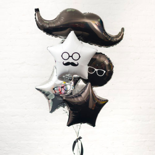 Связка из шаров Мужской набор Джентельмен