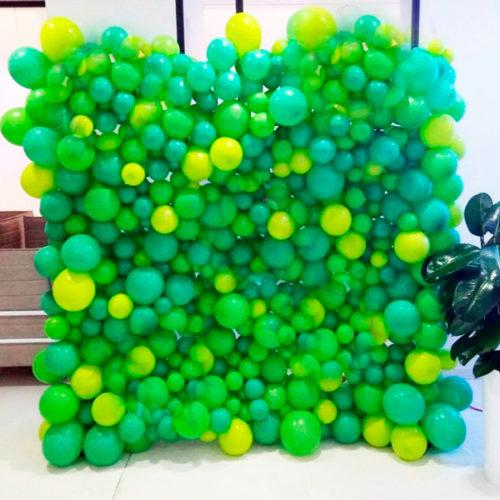 Фотозона из воздушных шаров на 23 февраля
