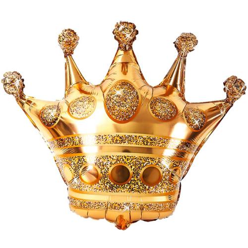Шар 91 см Фигура Корона Золото
