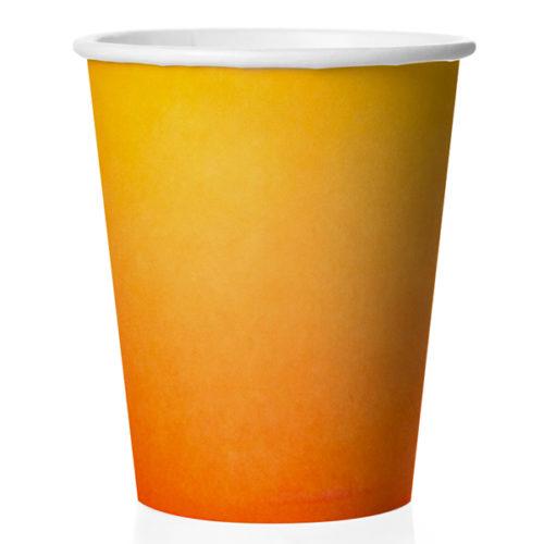 Стаканы 250 мл Оранжевый Градиент 6 штук