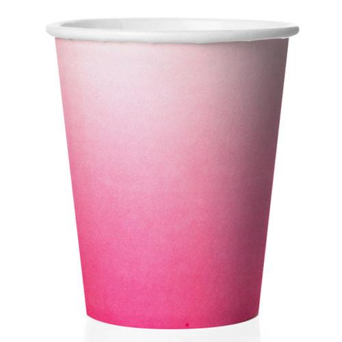 Стаканы 250 мл Розовый Градиент 6 штук