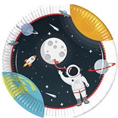 Тарелка 23 см Открытый Космос 8 штук