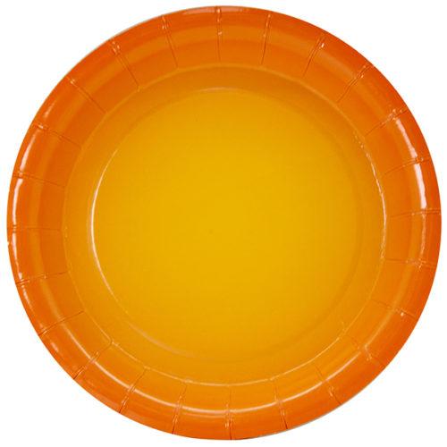 Тарелки 18 см Оранжевый Градиент 6 штук