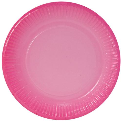 Тарелки 18 см Розовый Градиент 6 штук