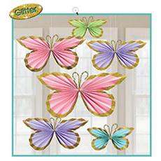 Фант Бабочки Весенние блеск 6 штук