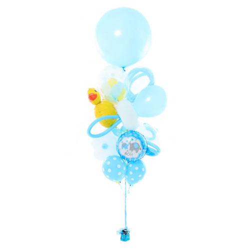 Фонтан из шаров на Рождение Малыша Средний
