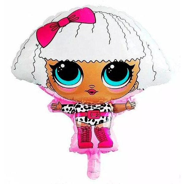 Шар 67 см Фигура Куклы Лол LOL