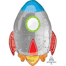 Шар 73 см Фигура Ракета