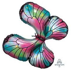 Шар 76 см Фигура Бабочка переливы перламутр