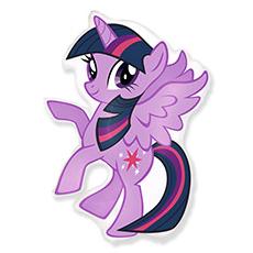Шар 81 см Фигура Пони фиолетовый