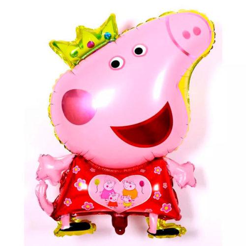 Шар 81 см Фигура Свинка Пеппа