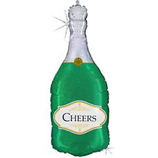 Шар 91 см Фигура CHEERS Бутылка шампанского