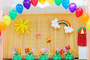 Комплекты для оформления Выпускного в детском саду
