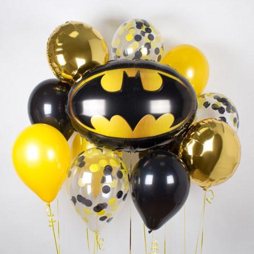 Связка из шаров Ассорти Бэтмен