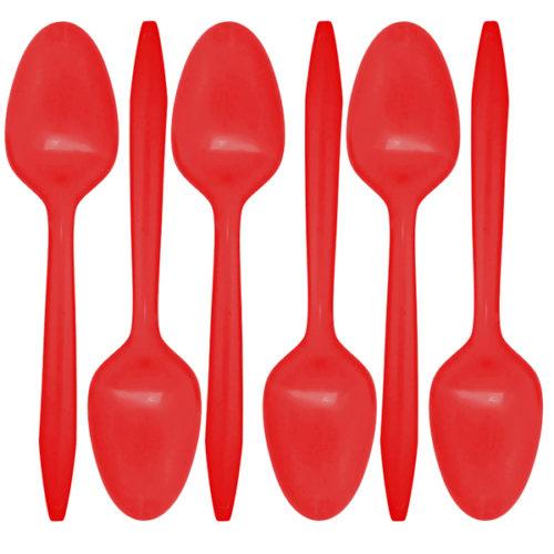 Ложки Красный 24 штуки