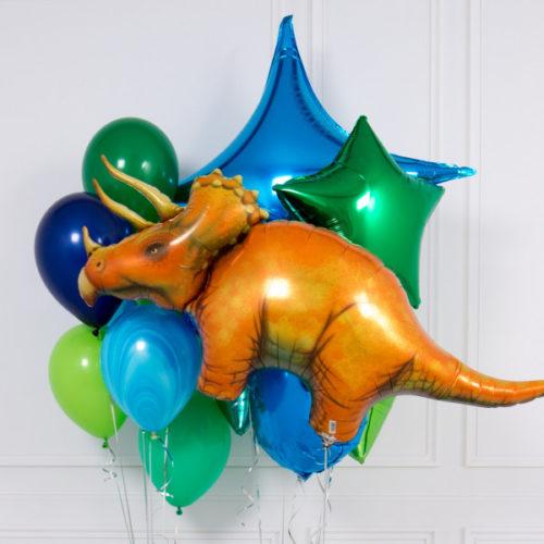 Связка из шаров Трицератопс