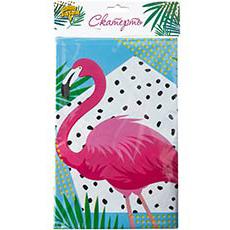 Скатерть п-э Фламинго 130 х 180 см