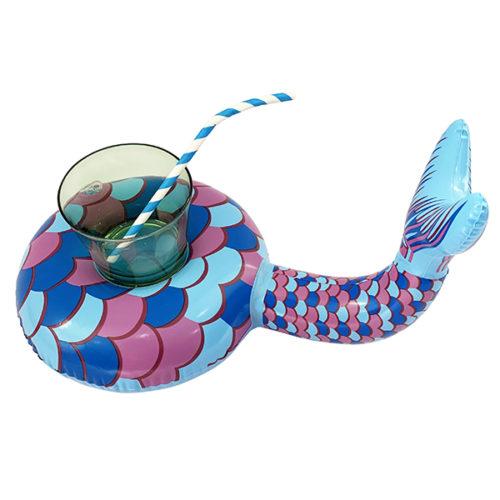 Подставка надувная Хвост русалочки 31 см