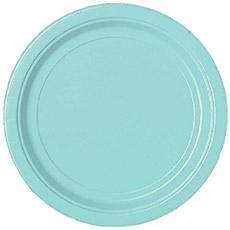 Тарелка 17 см Robin's Egg Blue Нежно Голубой 8 шт