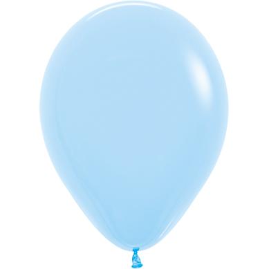 Шар 30 см Макарунс Нежно-голубой Пастель