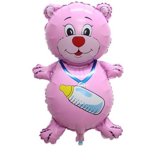 Шар 81 см Фигура Медвежонок девочка
