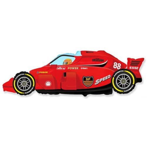 Шар 91 см Фигура Формула 1 Красный
