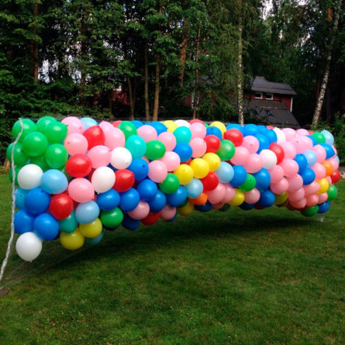 Запуск воздушных шаров 1 сентября 1500 штук