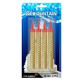 Свеча Фонтан для торта 10 см 4 штуки