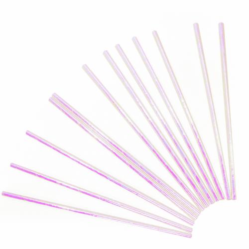 Трубочки для коктейлей Жемчужный перламутр 12 штук