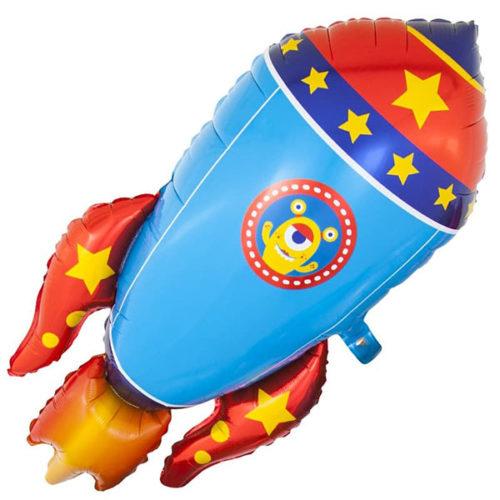 Шар 104 см Фигура Космическая ракета