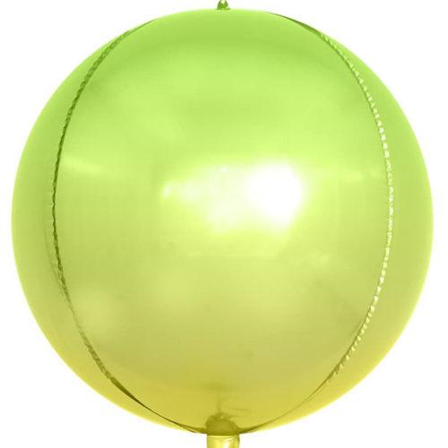 3D СФЕРА 61 см Светло-зеленый Градиент