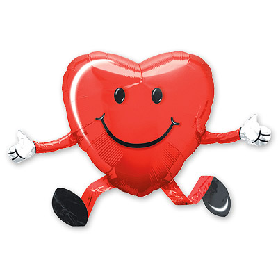 Ходячая фигура 48 см Сердце