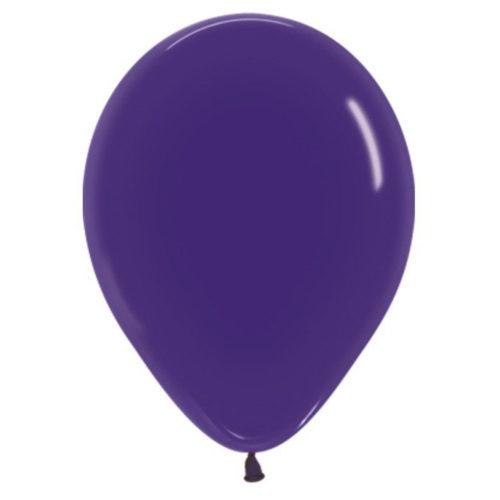 Шар 30 см кристалл Фиолетовый 351