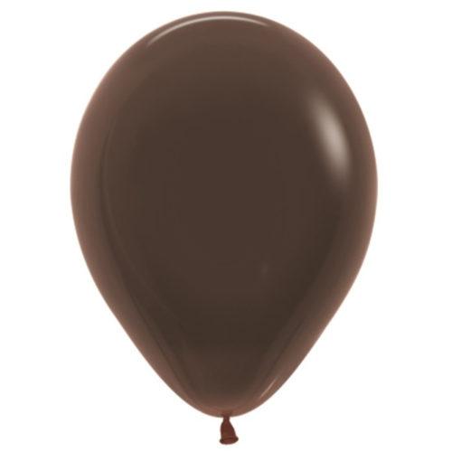 Шар 30 см пастель Шоколадный 076