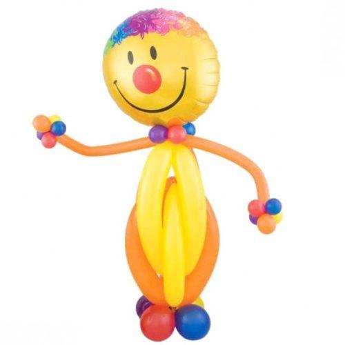 Смайл-клоун из воздушных шаров